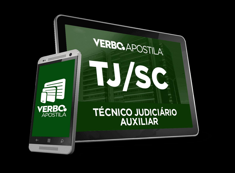 Apostila TJ/SC - Técnico Judiciário Auxiliar