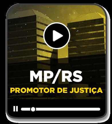 PROMOTOR DE JUSTIÇA - MP/RS - EAD - 2020/1