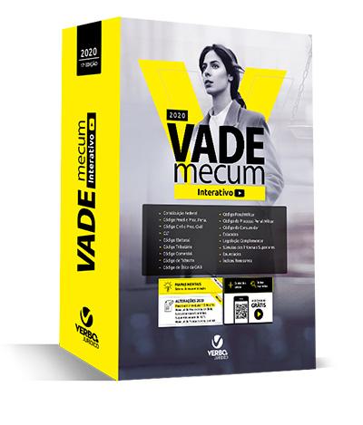 VADE MECUM INTERATIVO 2020 com videoaulas e mapas mentais
