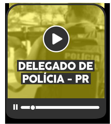 DELEGADO DE POLÍCIA CIVIL DO ESTADO DO PARANÁ