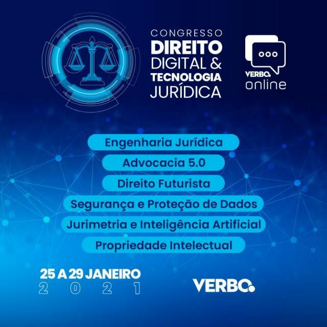 Certificado de Participação - Congresso de Direito Digital e Tecnologia Jurídica