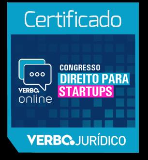 Certificado de Participação - Congresso Direito para Startups
