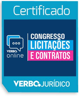 Certificado Congresso Licitações e Contratos