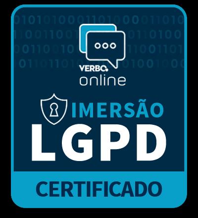 Certificado de Participação - Congresso Imersão LGPD