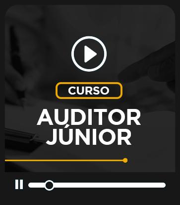 CURSO DE EXTENSÃO - Auditor Junior