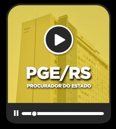 Procurador do Estado - PGE/RS